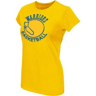 G III Womens Womens Golden State Warriors Logo T Shirt   Size L, Gold