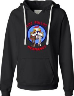 Womens Los Pollos Hermanos Breaking Bad Inspired Deluxe Soft Fashion Hooded Sweatshirt Hoodie Clothing