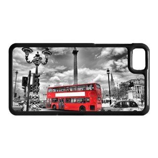 Fashionable Red Bus and Big Ben Printed BlackBerry Z10 Case Hard Plastic BlackBerry Z10 Case Cell Phones & Accessories
