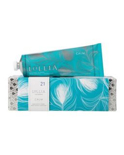 Calm Shea Butter Hand Creme   Lollia   (One Size)