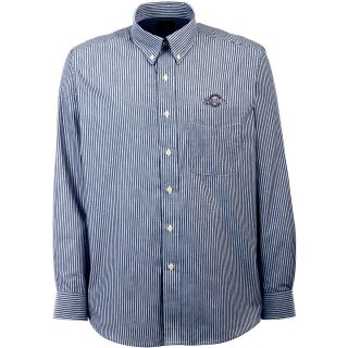 Antigua Milwaukee Brewers Mens Republic Button Down Long Sleeve Dress Shirt