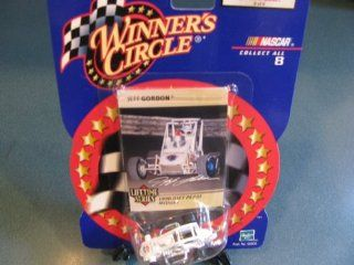 Jeff Gordon #4 Diet Pepsi Midget Winning Race Car Hut Hundred 1990 Midget Champion 1/64 Scale Winners Circle Lifetime Series Issue # 8 of 8 Toys & Games
