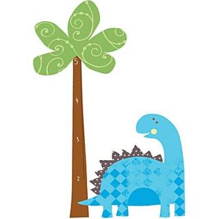 RoomMates Babysaurus Peel and Stick Growth Chart Wall Decal, 27 x 40, 18 x 40