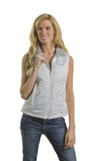 Venture Heated Clothing Women's Nylon Vest is designed for women riders, it is a fusion of style and warmth. Whether you ride the motorcycle yourself or are tagging behind as a passenger, this vest protects you from the cold as it keeps you looking goo