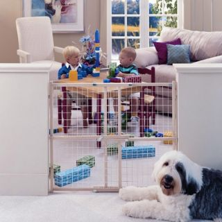 North States Easy Adjust Extra Wide Gate   Baby Gates
