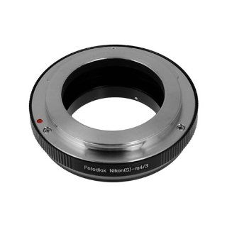 Fotodiox Lens Mount Adapter, Nikon RF Range Finder Lens (also known as S type, Nikkor, Voigtl�nder, Contax) to MFT Micro 4/3 four thirds cameras, for Olympus PEN E PL1, E PL1s, E PL2, E PL3, E P2, E P3, E M, OM D, E M5, Panasonic Lumix DMC G1, G2, G3, G10,