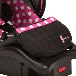 Disney Baby Minnie Mouse Light N Comfy Luxe Infant Car Seat, Minnie Dot  Baby
