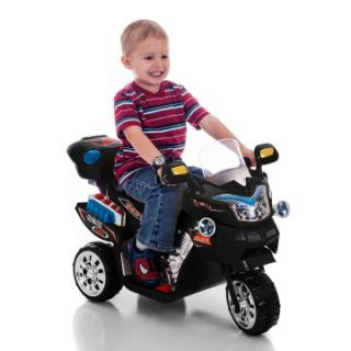 Lil Rider FX 3 Wheel Motorcycle Bike Battery Powered Riding Toy   Black   Battery Powered Riding Toys