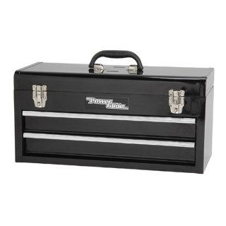 Power Glide 60500024 Portable Steel 2 Drawer Tool Box   Toolboxes