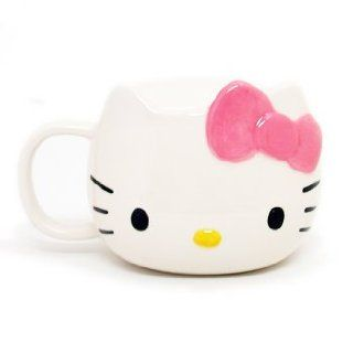 Hello Kitty Die Cut Mug W/Lid Toys & Games
