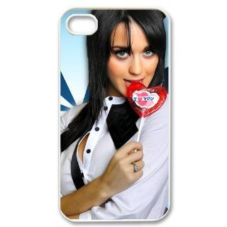Vilen Home Good looking Katy Perry Hard Case Cover Custom New Arrival Case Custom Case for Iphone 4,4S Vilen Home 0304 Cell Phones & Accessories
