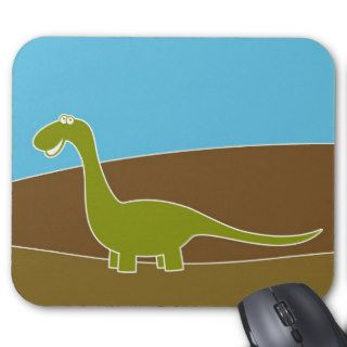 Cute Cartoon Dinosaur Mousepad