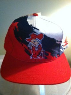 Ole Miss Original Paintbrush Snapback Hat