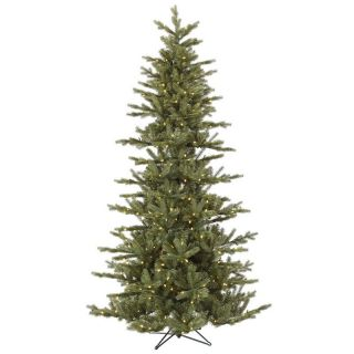 Vickerman Slim Austrian Pre Lit LED Christmas Tree   Christmas Trees