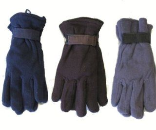 (Lot of 120) Wholesale Winter Gloves. Wholesale Winter Gloves. Polar Fleece   Mens Gloves   Assorted Colors (Mostly Black). Cheap Bulk Wholesale Lot of Warm Gloves for Men