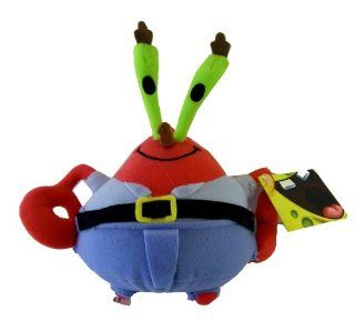 Spongebob Squarepants 's friend Mr. Krabs plush doll toy   16in Mr. Krabs Stuffed animal Toys & Games