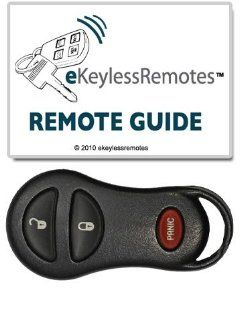 2002 2005 Dodge Ram 1500 & 2500 Keyless Entry Remote Fob With Free Do It Yourself Programming (Must Have One Working Remote) Free eKeylessRemotes Guide Automotive