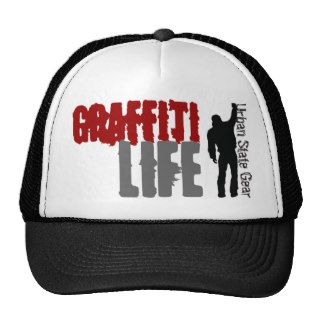 USG Graffiti Life caps Trucker Hat