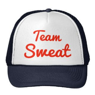 Team Sweat Trucker Hats