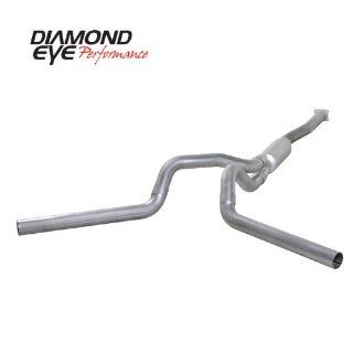 "'01 '05 Chevy Silverado, GMC Sierra Duramax 6.6L Diesel, 4"" Aluminized Cat Back Dual Exhaust Automotive"