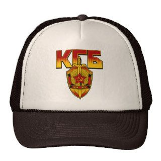 Russian KGB Badge Soviet Era Trucker Hats