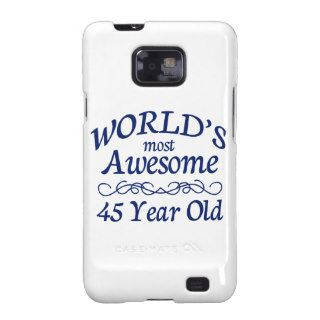 World's Most Awesome 45 Year Old Samsung Galaxy SII Cover