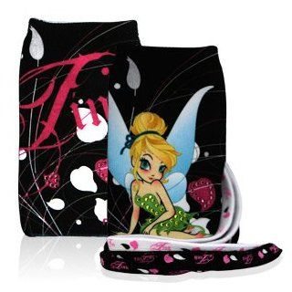 Disney Officially Licensed Tinkerbell Universal Carrying Case / Sock Fits Nearly Any Phone Cell Phones & Accessories