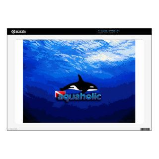"Orca / Aquaholic Skins For 17"" Laptops"