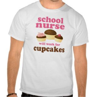 Funny School Nurse Tees