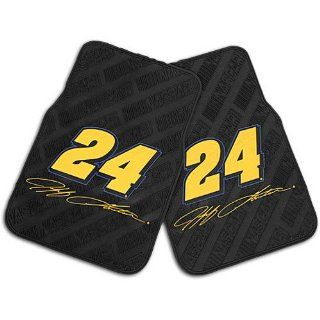 "Northwest Jeff Gordon Nascar Car Front Floor Mats (2 Front) (17x25"")"" NOR 1JGR343030001RET  Sports Fan Car Floor Mats  Sports & Outdoors"