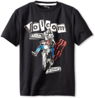 Volcom Boys 8 20 Trip To Nowhere Short Sleeve Tee Big Youth, Black, X Large Fashion T Shirts Clothing