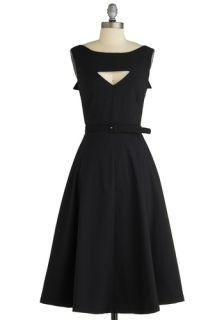 Tatyana/Bettie Page The Evening Unfolds Dress in Black  Mod Retro Vintage Dresses