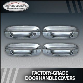 2002 2010 Chevy Trailblazer Chrome Door Handle Covers (4 door w/o passenger Keyhole) Automotive