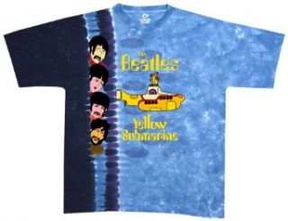 Liquid Blue Men's Beatles Nowhere Man/Yellow Submarine Short Sleeve Tee,Multi,Medium Clothing