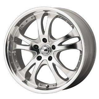 "American Racing Casino AR383 Silver Wheel with Machined Face And Lip (16x7""/5x4.5"") Automotive"