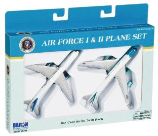 Air Force One 2 Plane set, Air Force One and Air Force Two Toys & Games