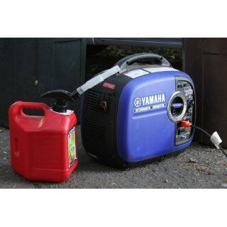 Yamaha EF2000iS 2,000 Watt 79cc OHV 4 Stroke Gas Powered Portable Inverter Generator, CARB Compliant, Blue Patio, Lawn & Garden