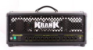 Krankenstein Plus 120 Watt Tube Guitar Head with Black Grill Musical Instruments