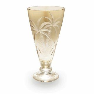 Lenox British Colonial Crystal Gold Goblets, Set of 4 Kitchen & Dining