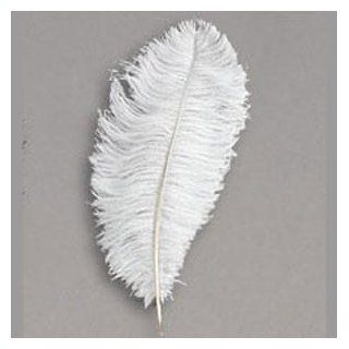 "Snow White 20 Ostrich Feather 8 12"" to Decorate Eiffel Tower Vase   Artificial Mixed Flower Arrangements"