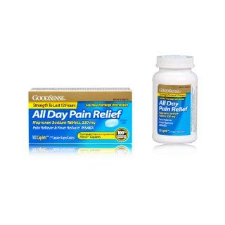 Good Sense All Day Pain Relief, Naproxen Sodium Caplets, 220mg, 100 count Health & Personal Care