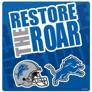 NFL Detroit Lions Slogan Magnet Sheet  Sports Related Magnets  Sports & Outdoors