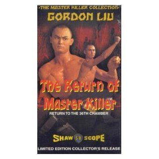 Master Killer Collection Return of Master Killer   Return to the 36th Chamber [VHS] Chia Hui Liu, Lung Wei Wang, Hou Hsiao, Lun Hua, Yeong Mun Kwon, Kara Hui, Szu Chia Chen, Tsui Ling Yu, Wei Hao Teng, Gong Shih, Tao Chiang, Yi Tao Chang, Peter Ngor, Chi