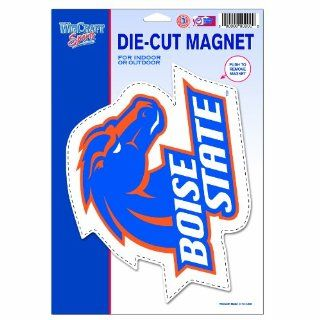 NCAA Boise State Broncos Die Cut Logo Magnet  Sports Related Magnets  Sports & Outdoors