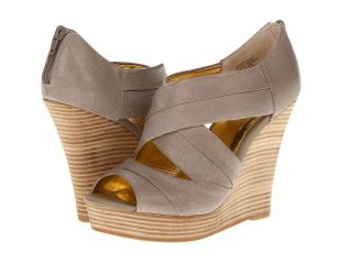 Seychelles Risky Business Womens Wedge Shoes (Taupe)