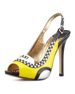 le taxi slingback pump, taxi yellow   kate spade new york   Taxi yellow (37.