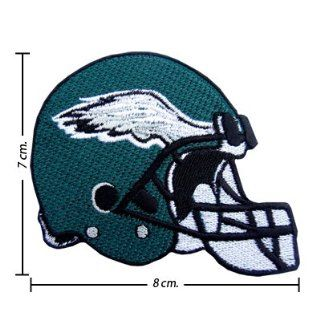 3pcs Philadelphia Eagles Helmet Logo Embroidered Iron on Patches Kid Biker Band Appliques for Jeans Pants Apparel Great Gift for Dad Mom Man Women  From Thailand   High Quality Embroidery Cloth & 100% Customer Satisfaction Guarantee