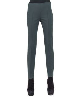 Womens Techno Cotton Slim Stretch Pants   Akris   Night iii (42/12)