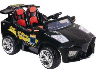 KIDS RIDE ON ELECTRIC BATTERY OPERATED SPORTS CAR   Mini Motos   12 Volt Super Car Electric Ride On Toy (BLACK OR YELLOW  COLOR SENT AT RANDOM)