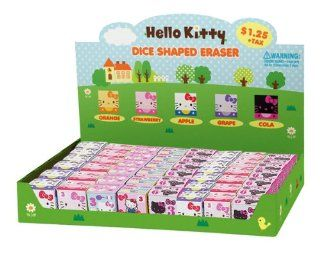 Japanese Sanrio Hello Kitty Cube Eraser Assorted design, but only 1 (one) will be sent. Toys & Games